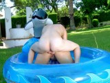 Vidéo porno mobile : Let's have a quick dip in her enormous asshole